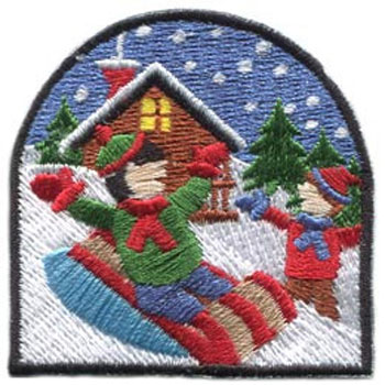 Cub Scouts and Girl Scouts of any age group can earn this patch while having a blast with their Scouting friends at the Audubon Center & Sanctuary's Snowflake Festival.  This year's annual winter celebration will be presented on Saturday, February 1.