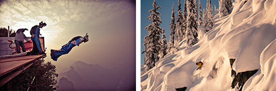 """Photos courtesy of www.banffcentre.ca. Left: From the film """"Heaven's Gate."""" Right: From the film """"Valhalla."""""""