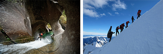 """Photos courtesy of www.banffcentre.ca. Left: From the film """"Down the Line."""" Right: From the film """"je veux."""""""