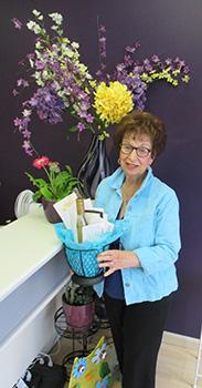 Mother's Day contest winner, Carmella Muscarella