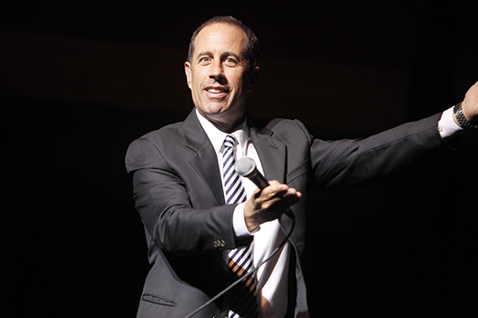 Jerry Seinfeld Photo Credit: www.lucycomedyfest.com