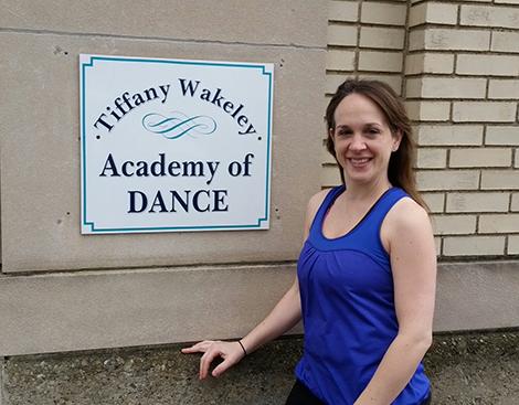 Tiffany Heintzman, owner of Tiffany Wakely Academy of Dance.