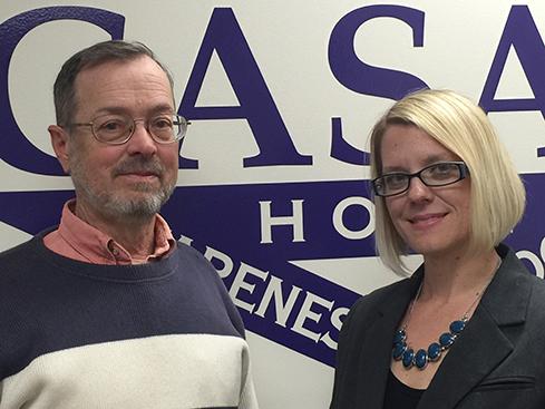 C. Berkeley Adams, CASAC Board President and incoming CASAC Executive Director