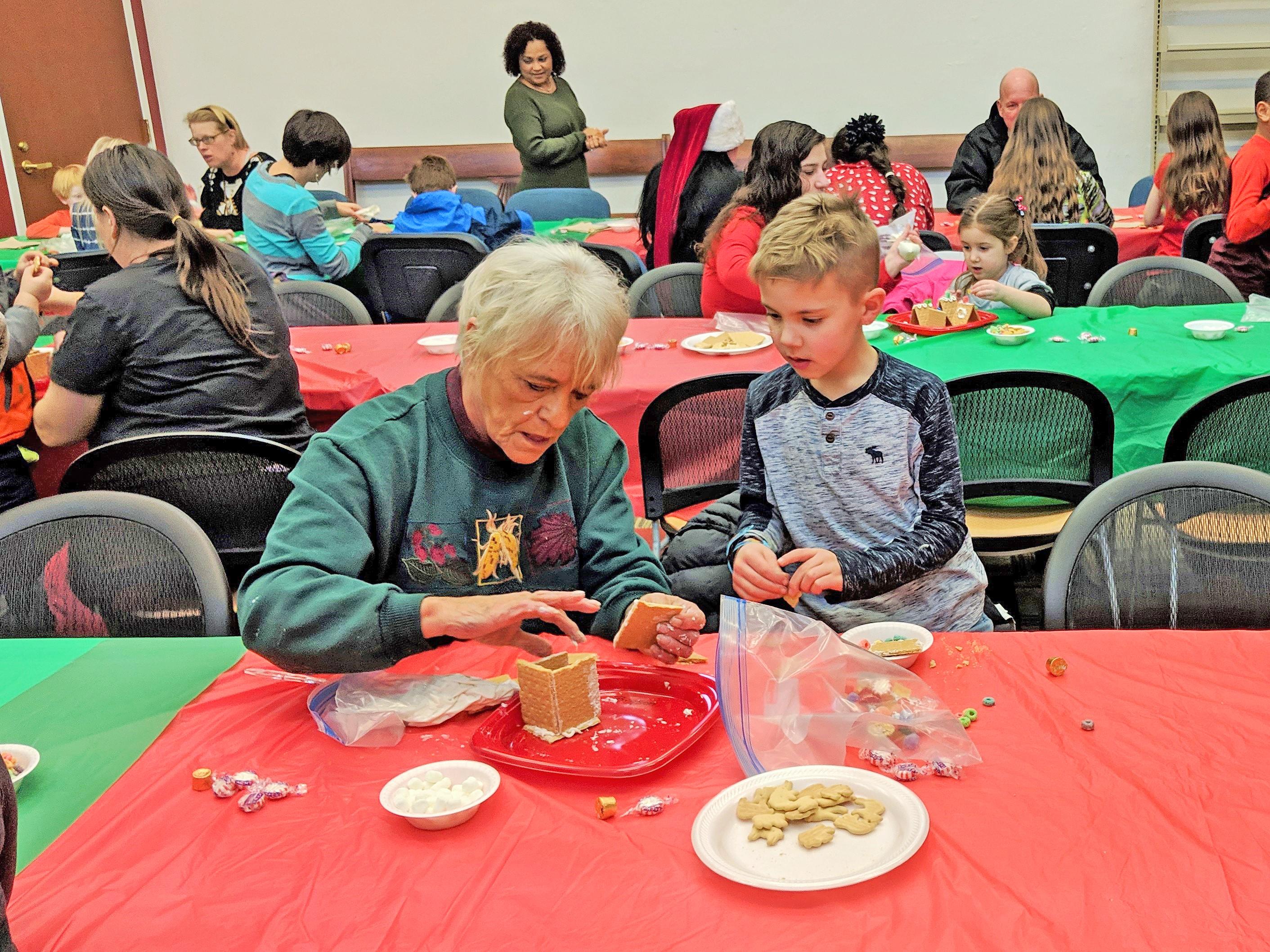 Gingerbread Workshop at Prendergast Library
