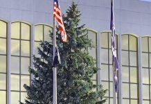 City of Jamestown's 2019 Christmas Tree