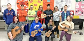 Jefferson Middle School recently received a donation from The Guitar Center Music Foundation through a grant.