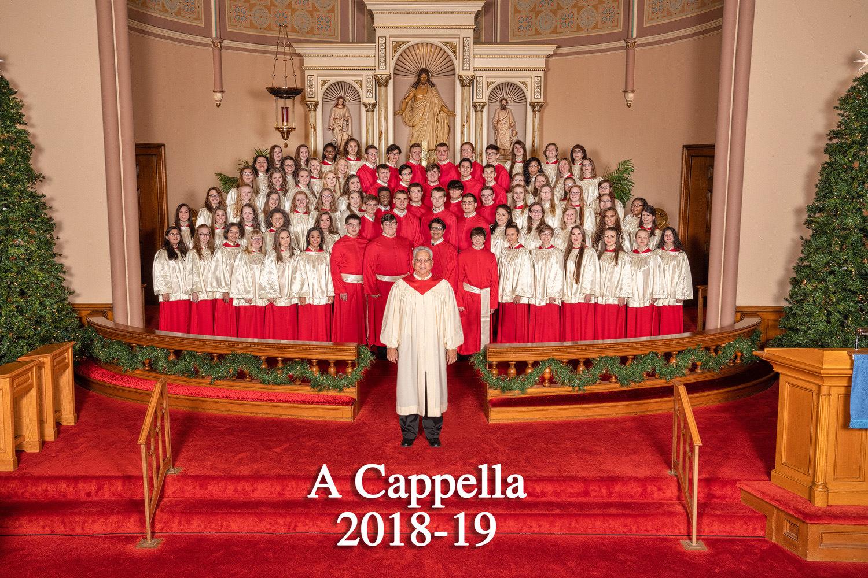 Jamestown High School A Cappella Choir