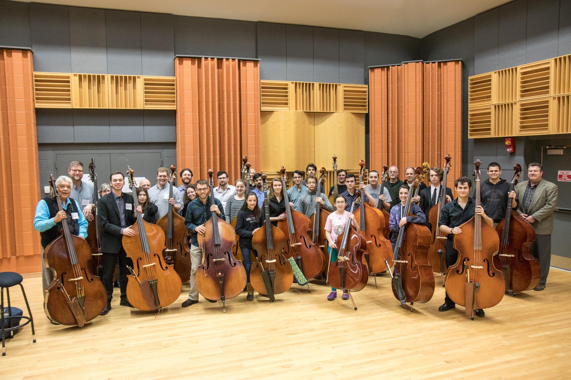 2019 Bass Fest Participants