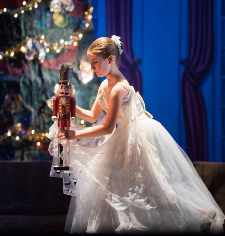 A scene from The Nutcracker that the Chautauqua Regional Youth Ballet will present Friday evening and Saturday afternoon, December 13 and 14, in downtown Jamestown's Reg Lenna Center for The Arts.