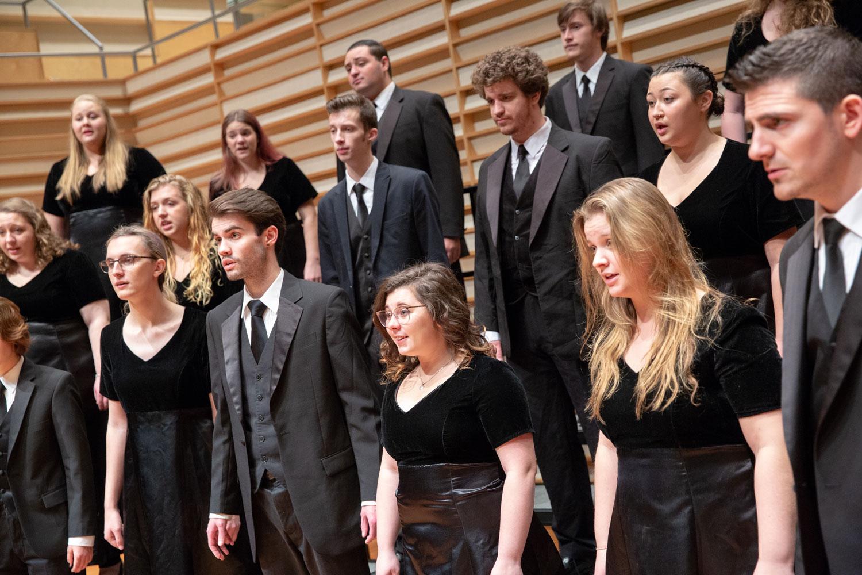 The Fredonia Chamber Choir.