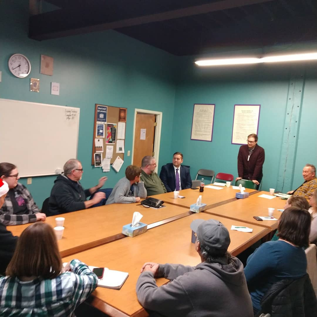 MHA Chautauqua holds initial planning meeting for Jamestown Pride 2020.