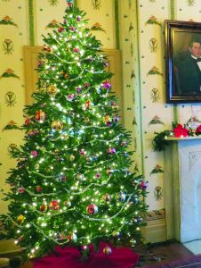 Holiday decorations can be found throughout the McClurg Mansion in Westfield, home of the Chautauqua County Historical Society and location of the 2019 Holiday Open House, which is 2 to 4 p.m. on Sunday, Dec. 8.