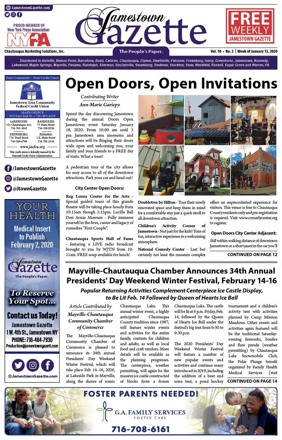 Front Cover 01-13-2020