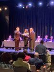 Mayor Eddie Sundquist takes the Oath of Office.