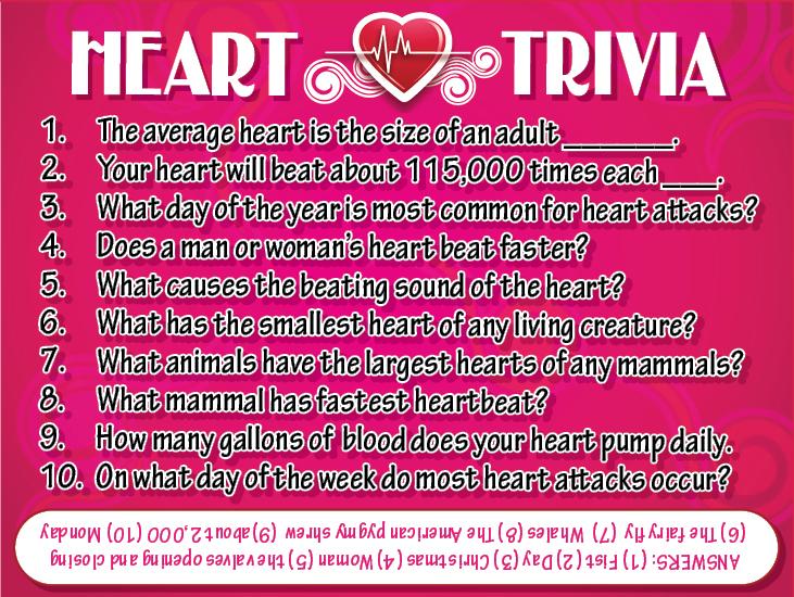 Heart Trivia