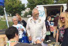 On Sunday morning, February 16, the Unitarian Universalist Congregation of Jamestown will present the T. Richard Parker Award for Social Justice to the Jamestown Mobile Market for bringing fresh food to Jamestown neighborhoods not served by local grocery stores.