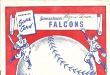 Jamestown Falcons 1948 Program