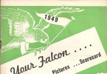 1949 Jamestown Falcons Program