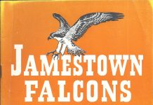1950 Jamestown Falcons Program