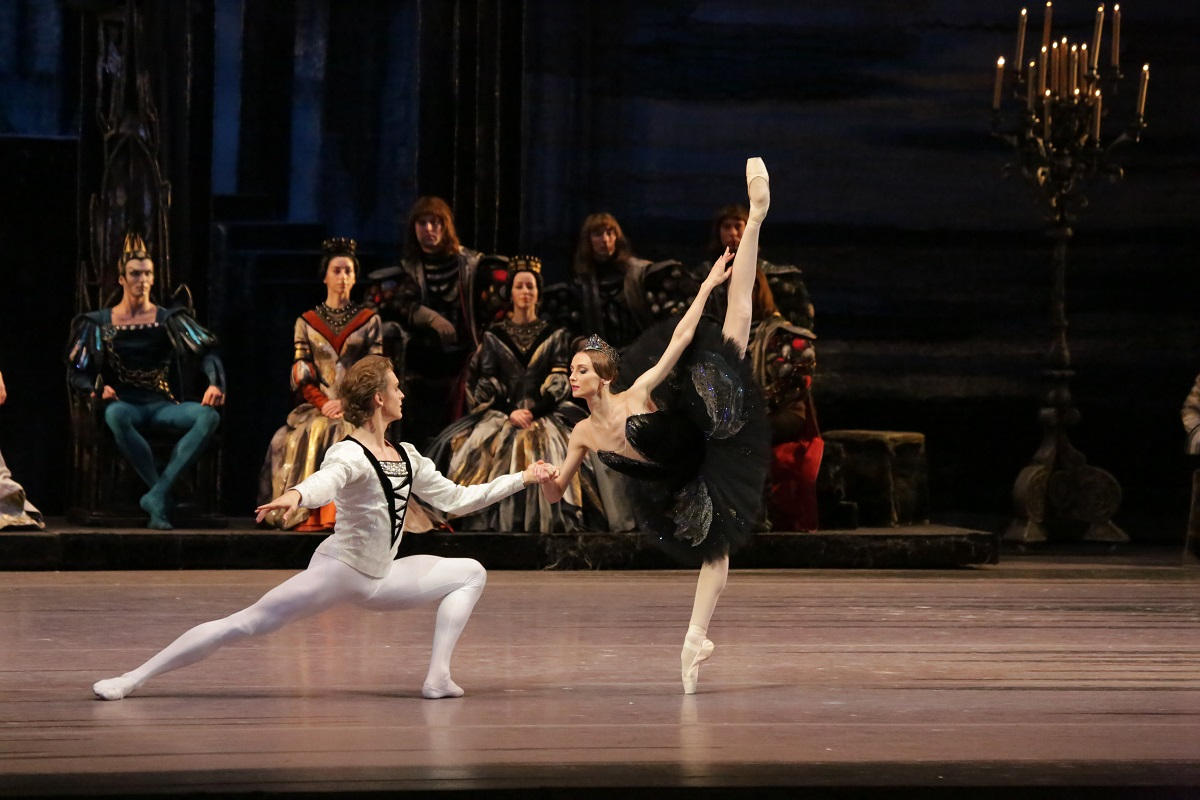 Svetlana Zakharova and Denis Rodkin