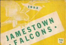Jamestown Falcons 1953 Program