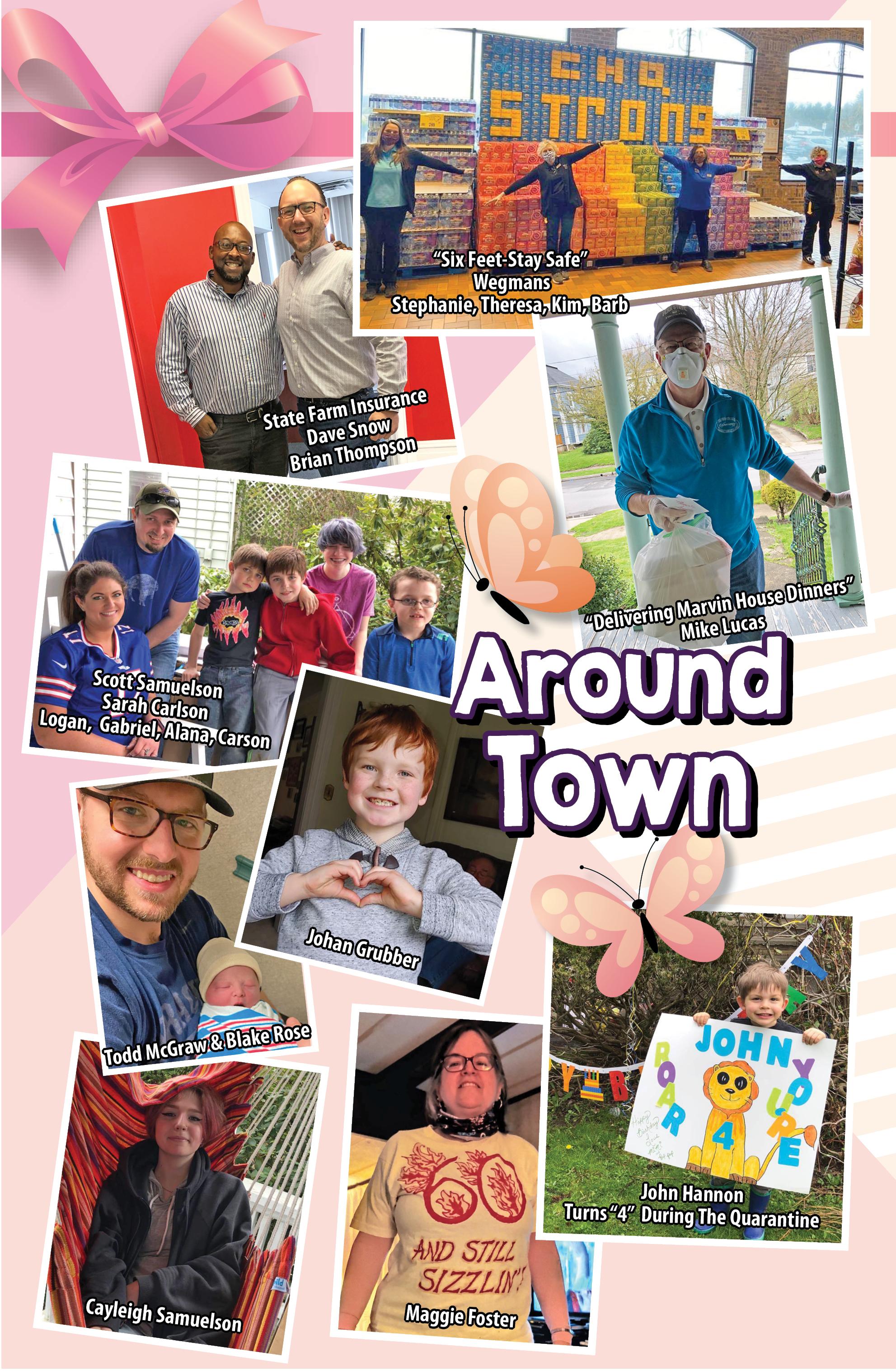 Around Town 5-4-2020