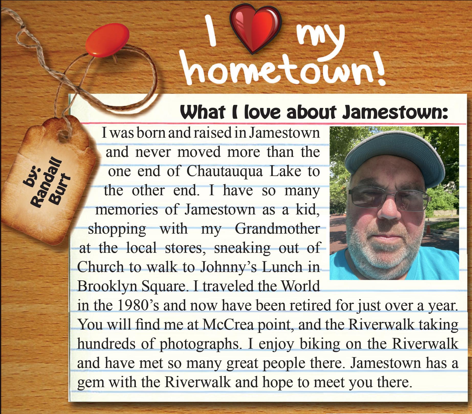 Hometown Randall Burt