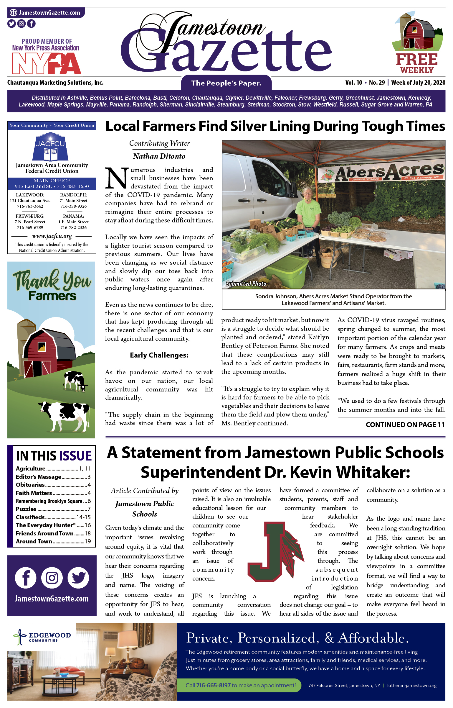 Front Cover 7-20-2020