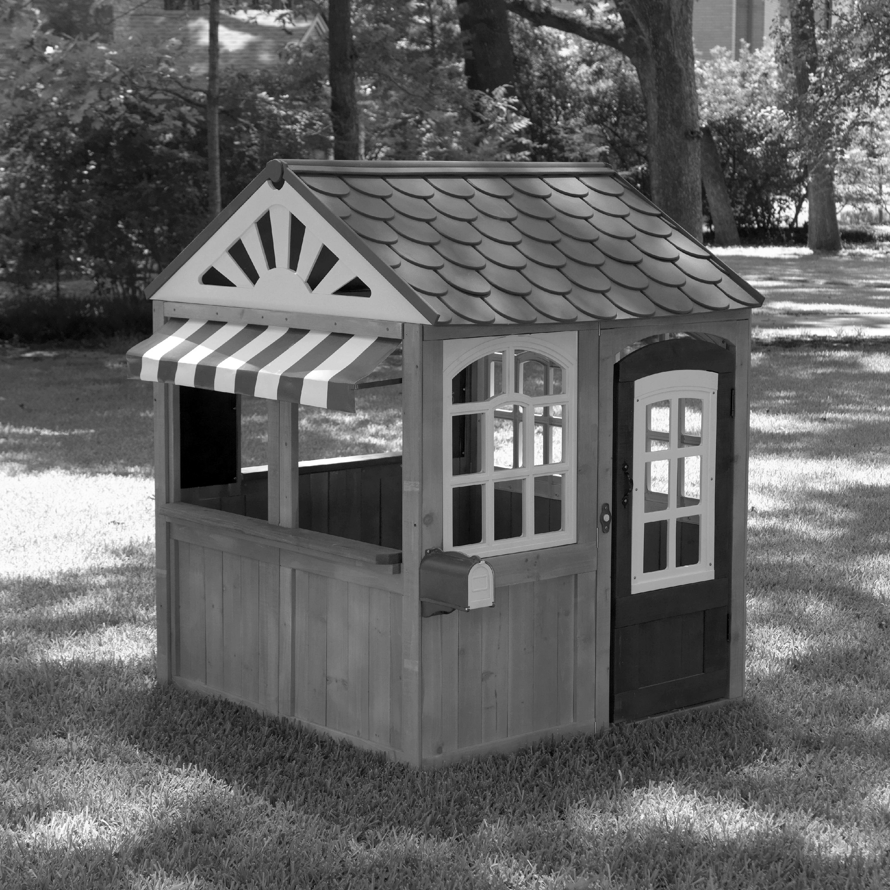 KidKraft Garden View playhouse that will be raffled off on September 7, to benefit CASA of Chautauqua County.