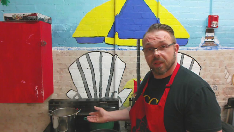 Mental Health Association (MHA) Certified Peer Specialist Sean Jones is resuming his weekly Cooking in Recovery classes both in person and virtually on Friday, September 11, 2020, 12-1 p.m. Classes are open to anyone and will be recorded and posted on the MHA's YouTube channel.