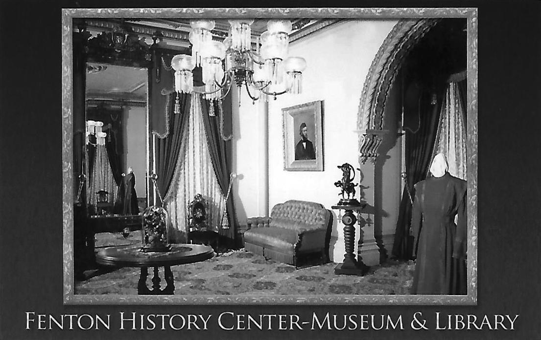 The Fenton Mansion (Photos courtesy of the Fenton History Center)