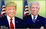 The 2020 Presidential race is between Republican incumbent Donald J. Trump and Democratic challenger former Vice President Joe Biden.