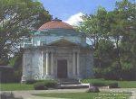 Hayden Mausoleum. Burial place of Lillian Hayden Fenton.