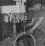 Jerry Lundberg at Jamestown Iron Works.