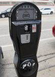 The proposed smart meter that will be installed in Jamestown's downtown next spring.