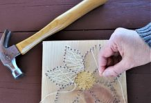 On Saturday, January 2, and Wednesday, January 6, you have your choice of five sessions when you can make your own string art decoration at Audubon Community Nature Center.