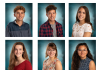 JHS seniors on the school's fall varsity sports teams who qualified as Section VI Scholar Athletes. To qualify, each senior's overall grade point must be an average of 90 or above for six semesters and be a starter or important reserve. Top: Drew Carlson, Joseph Dahlgren, Julissa Navarro Bottom: Claire Pumford, Sophia Simons and Madison Smith.